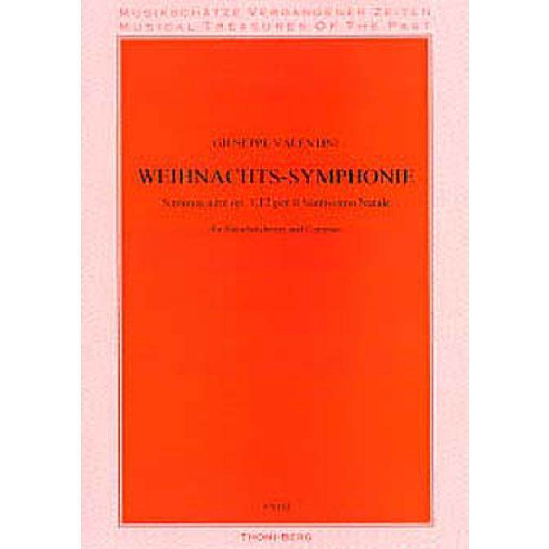 Titelbild für V 6102 - WEIHNACHTSSINFONIE