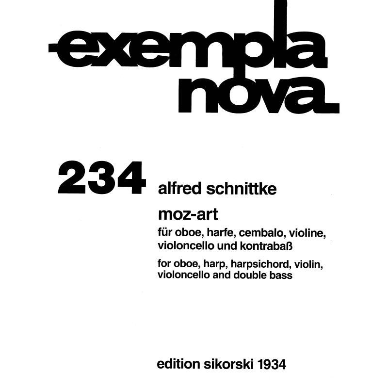 Titelbild für SIK 1934 - MOZ-ART FUER 6 INSTRUMENTE