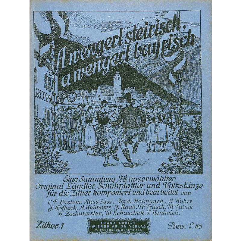Titelbild für ARION 1417 - A WENGERL STEIRISCH A WENGERL BAYRISCH