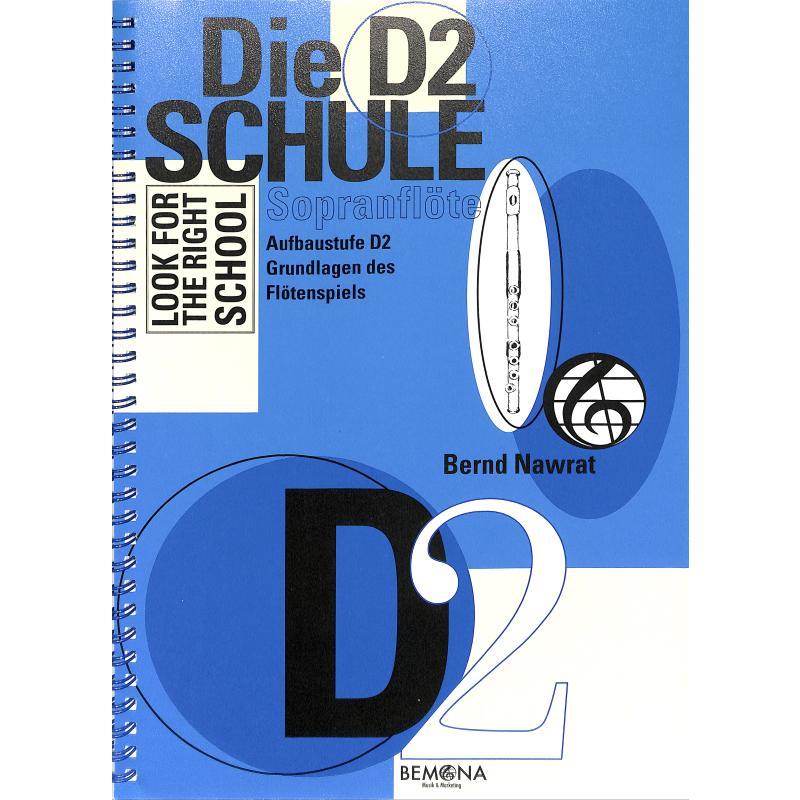 Titelbild für BEMONA 002-2 - DIE D2 SCHULE - SOPRANFLOETE