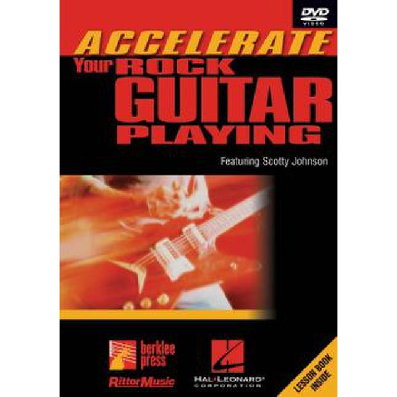 Titelbild für HL 320587 - ACCELERATE YOUR ROCK GUITAR PLAYING