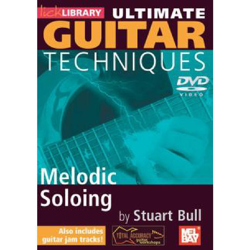 Titelbild für RDR 0098 - ULTIMATE GUITAR TECHNIQUES - MELODIC SOLOING