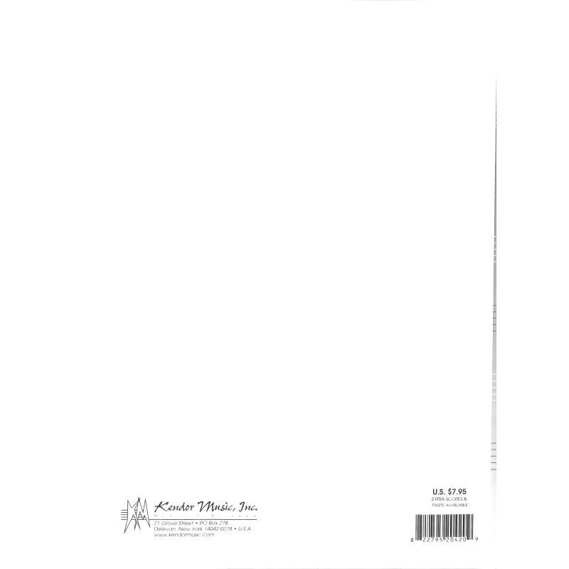 Notenbild für KENDOR 20420 - ROCK TRAP
