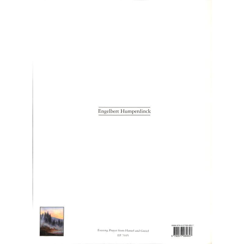 Notenbild für EP 7695 - ABENDSEGEN (HAENSEL + GRETEL)
