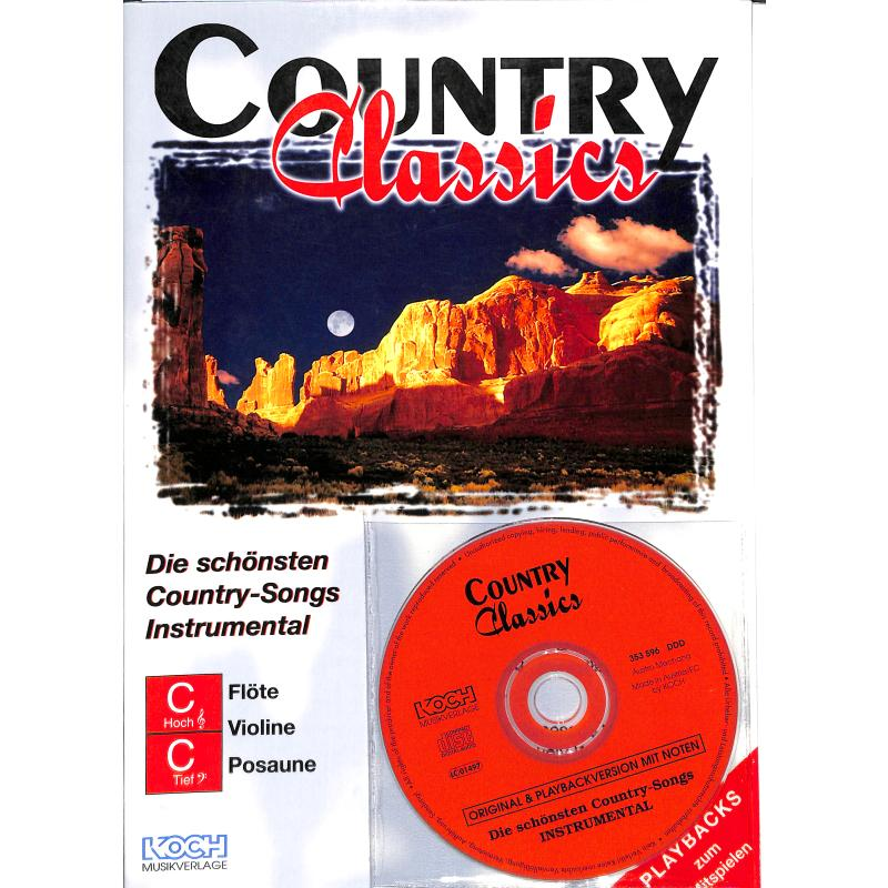 Titelbild für ECHO 023548 - COUNTRY CLASSICS