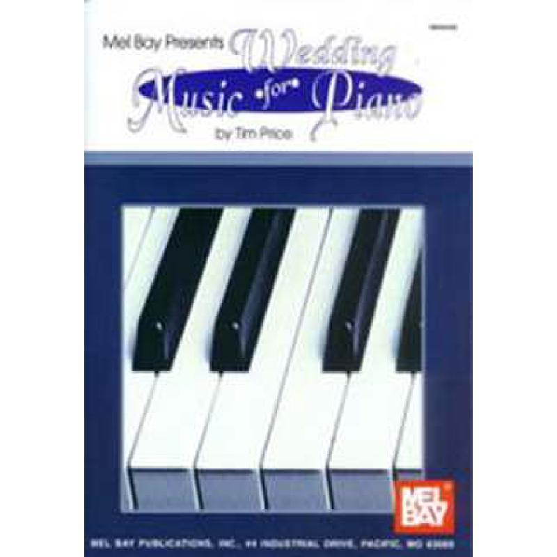 Titelbild für MB 94308 - WEDDING MUSIC FOR PIANO