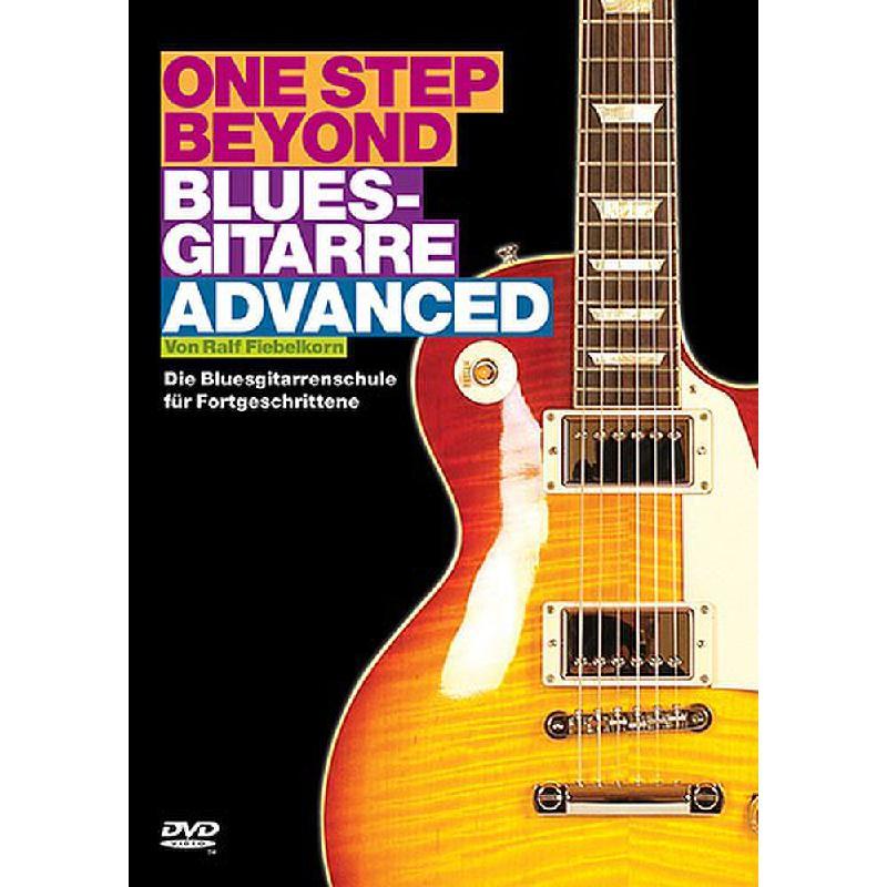 Titelbild für BOE 7272 - ONE STEP BEYOND - BLUESGITARRE ADVANCED