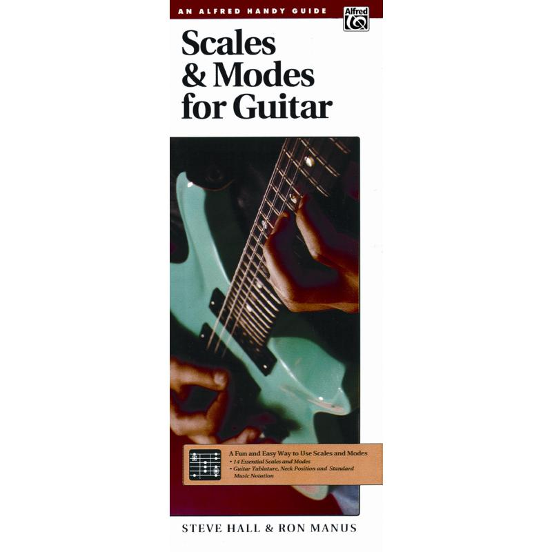 Titelbild für ALF 4433 - SCALES + MODES FOR GUITAR