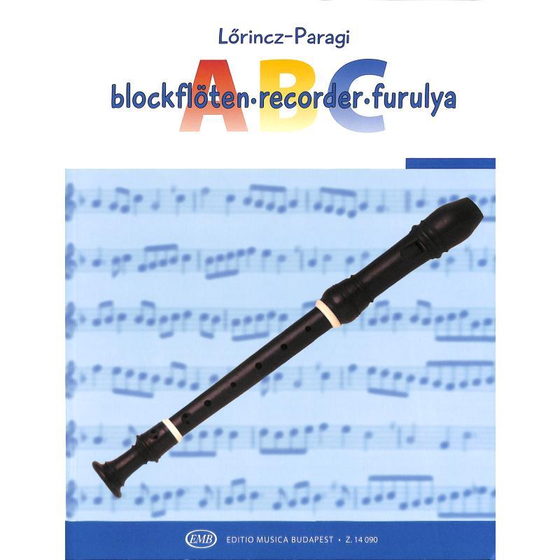 Titelbild für EMB 14090 - BLOCKFLOETEN ABC