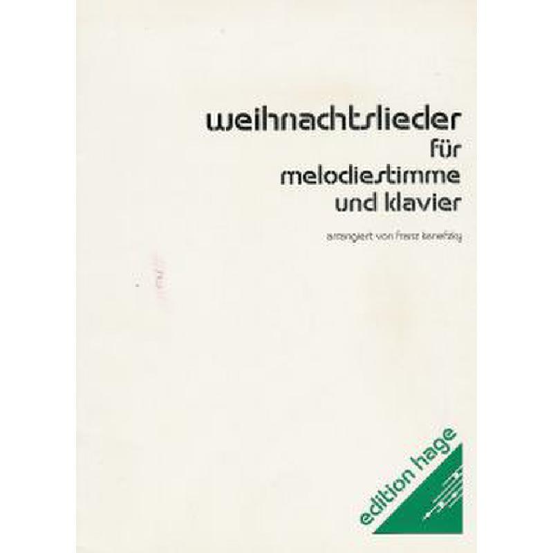 Titelbild für HAGE 1005 - WEIHNACHTSLIEDER