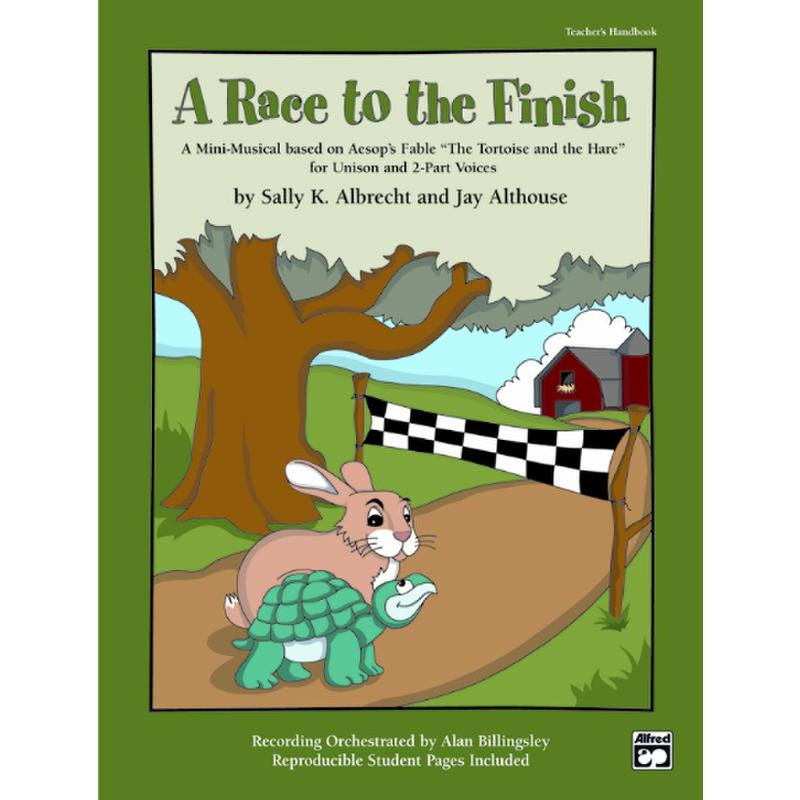 Titelbild für ALF 22991 - A RACE TO THE FINISH