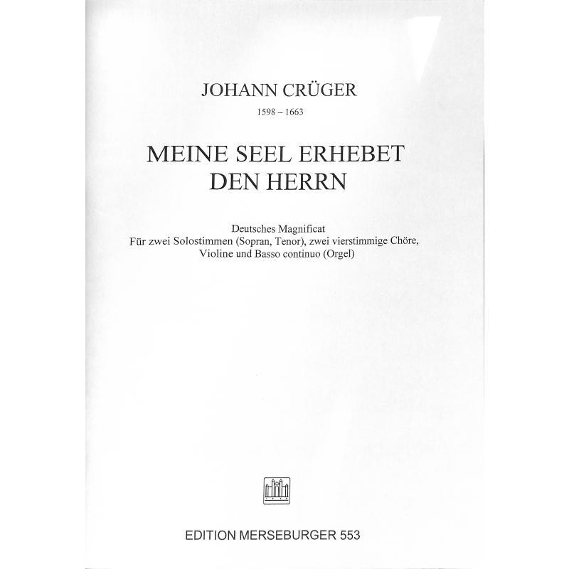 Titelbild für MERS 553 - MEINE SEELE ERHEBET DEN HERREN