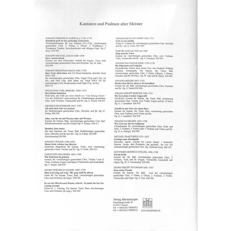 Notenbild für MERS 553 - MEINE SEELE ERHEBET DEN HERREN