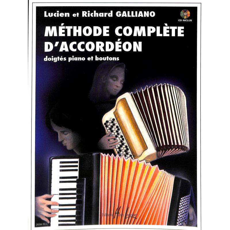 Titelbild für LEMOINE 28584 - METHODE COMPLETE D'ACCORDEON