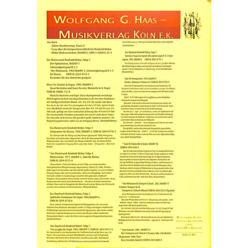 Notenbild für HAAS 0944-9 - PERMUTATIONEN WEBWV 30