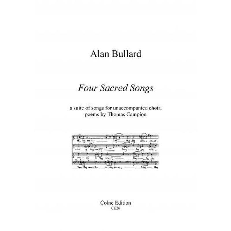 Titelbild für COLNE 26 - 4 SACRED SONGS