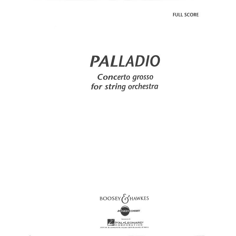 Titelbild für BH 8000001 - PALLADIO