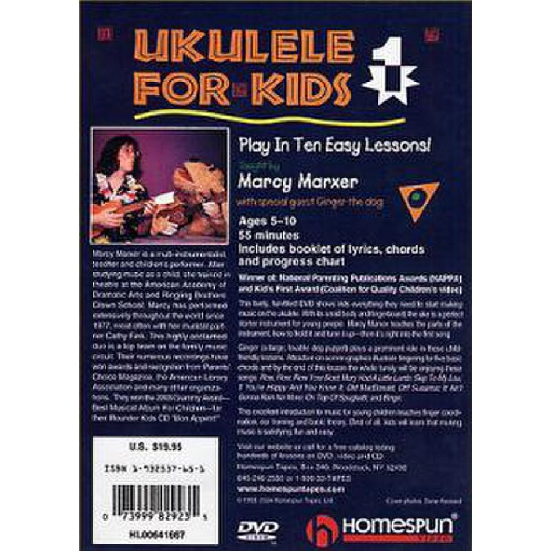 Titelbild für HL 641667 - UKULELE FOR KIDS 1
