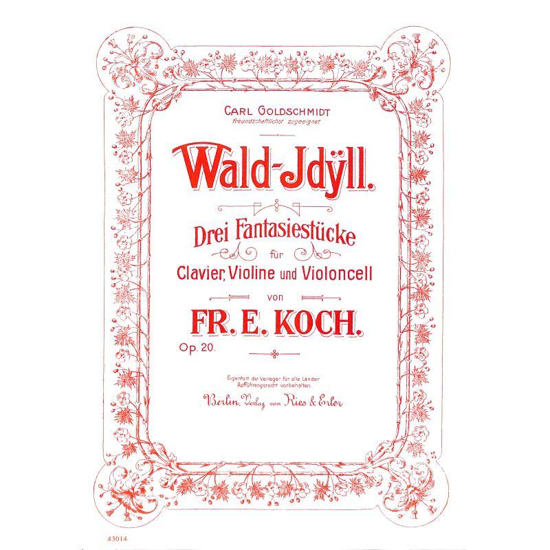 Titelbild für RE 43014 - WALDIDYLL OP 20