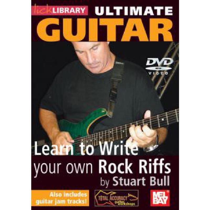 Titelbild für RDR 0150 - ULTIMATE GUITAR - LEARN TO WRITE YOUR OWN ROCK RIFFS