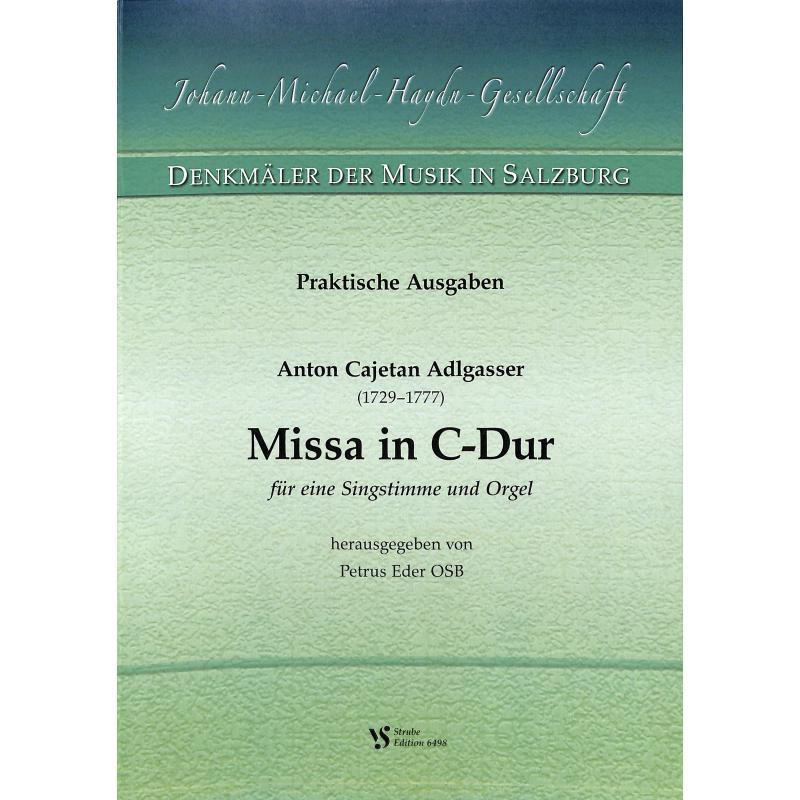 Titelbild für VS 6498 - MISSA C-DUR