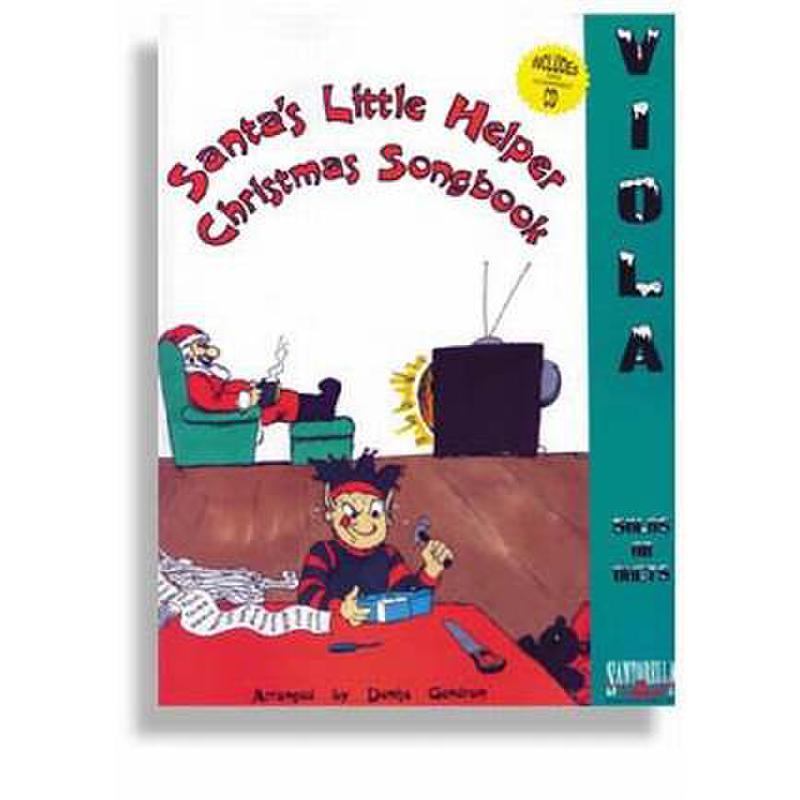 Titelbild für SANTOR -TS177WCD - SANTA'S LITTLE HELPER - CHRISTMAS SONGBOOK