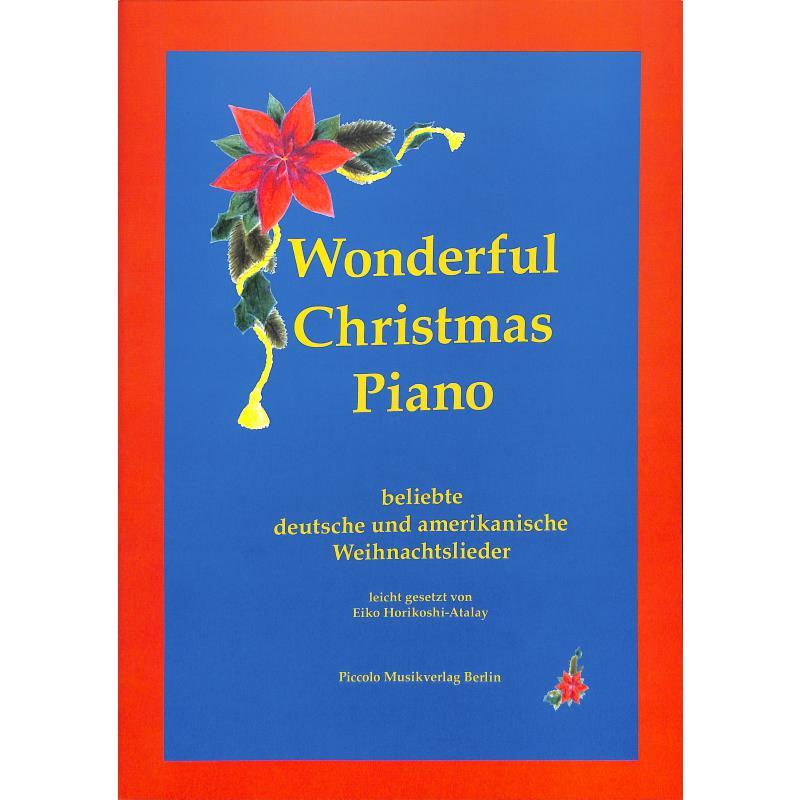 Amerikanische Weihnachtslieder Noten.Wonderful Christmas Piano
