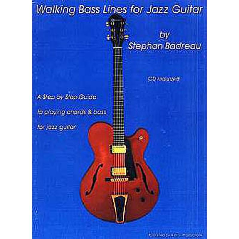 Titelbild für ADG 096 - WALKING BASS LINES FOR JAZZ GUITAR