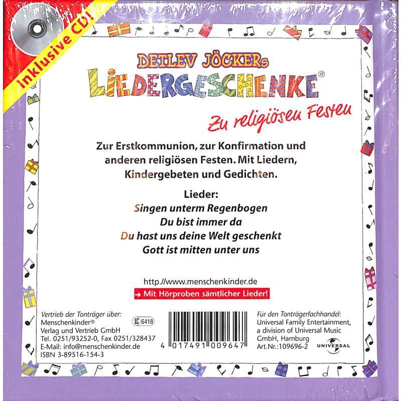 Notenbild für ISBN 3-89516-154-3 - ZU RELIGIOESEN FESTEN