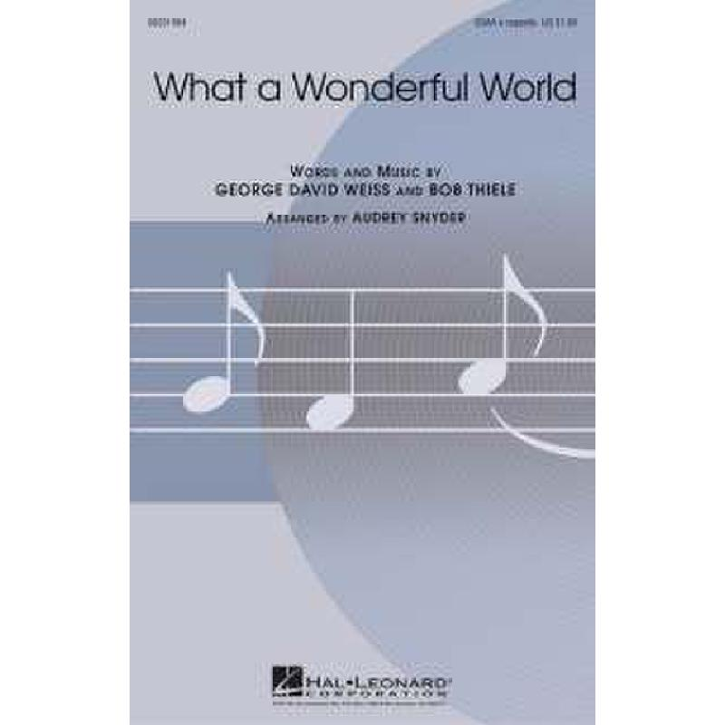 Titelbild für HL 8201984 - WHAT A WONDERFUL WORLD