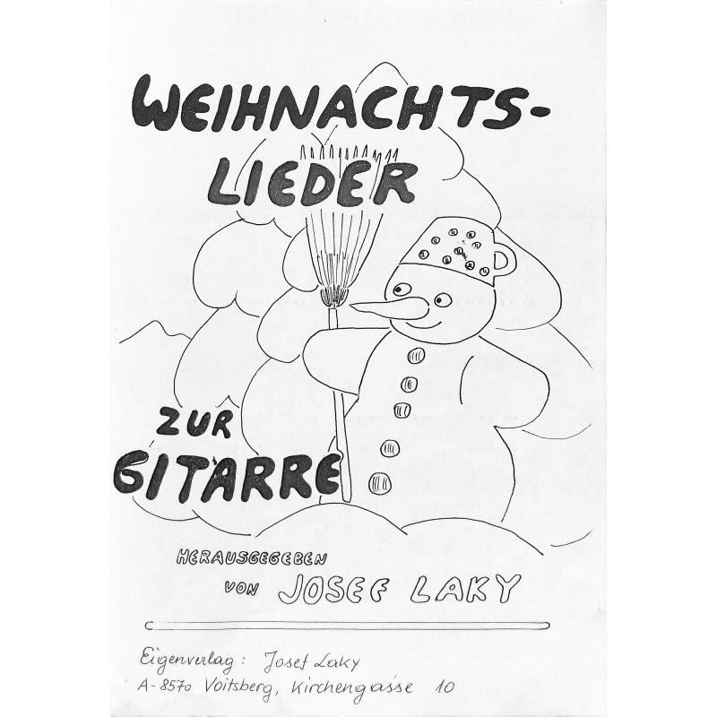 Titelbild für LAKY 1995-7 - WEIHNACHTSLIEDER ZUR GITARRE