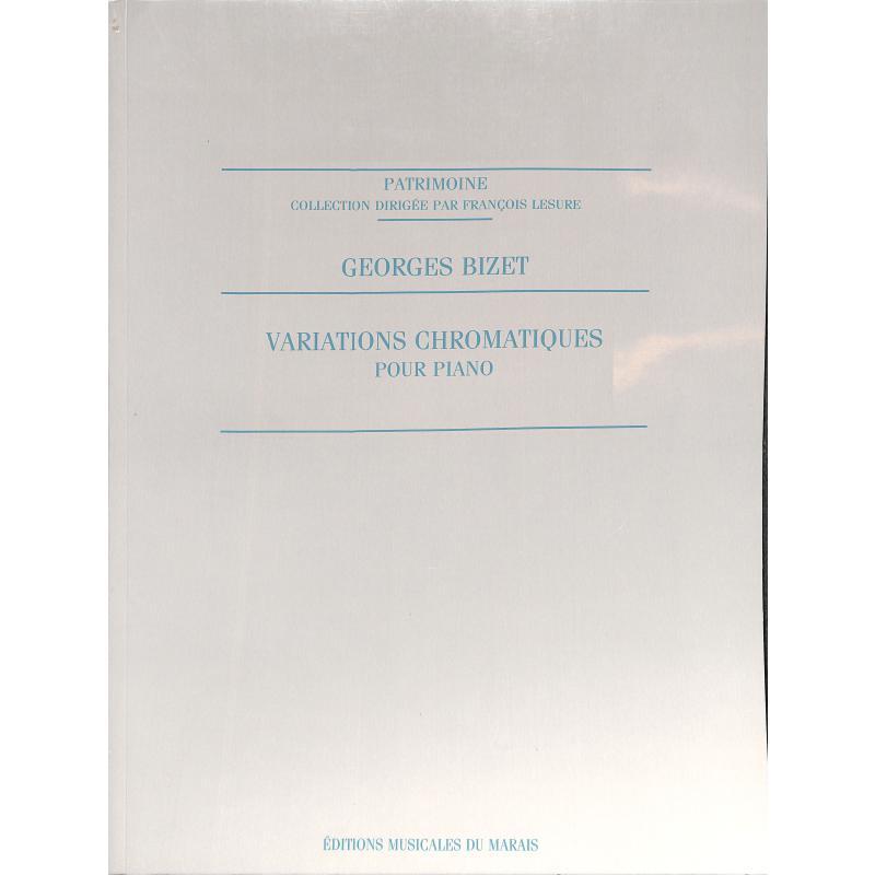 Titelbild für EMM 3516 - VARIATIONS CHROMATIQUES