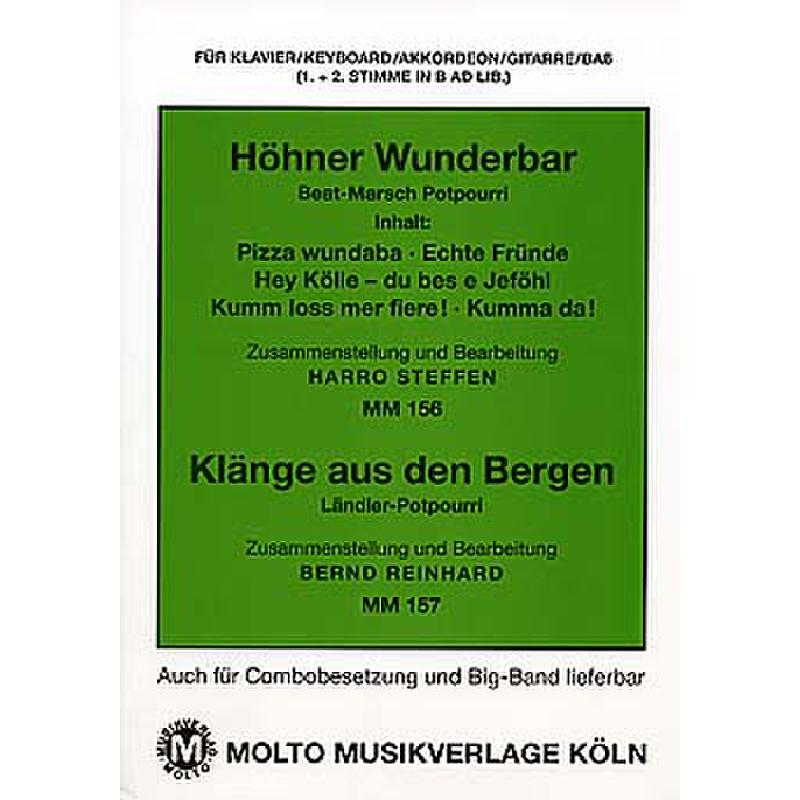 Titelbild für METMM 156-157 - Wunderbar + Klänge aus den Bergen