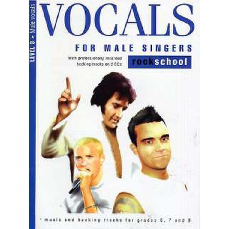 Titelbild für MSRSK 020119 - VOCALS FOR MALE SINGERS LEVEL 3 - ROCK SCHOOL