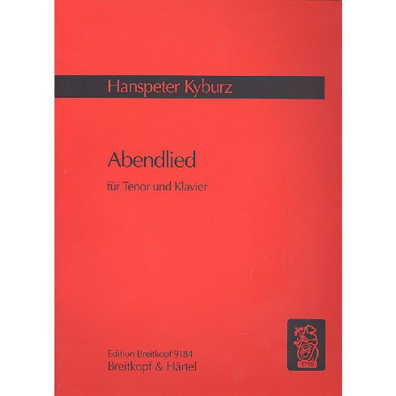 Titelbild für EB 9184 - ABENDLIED (2006/07)