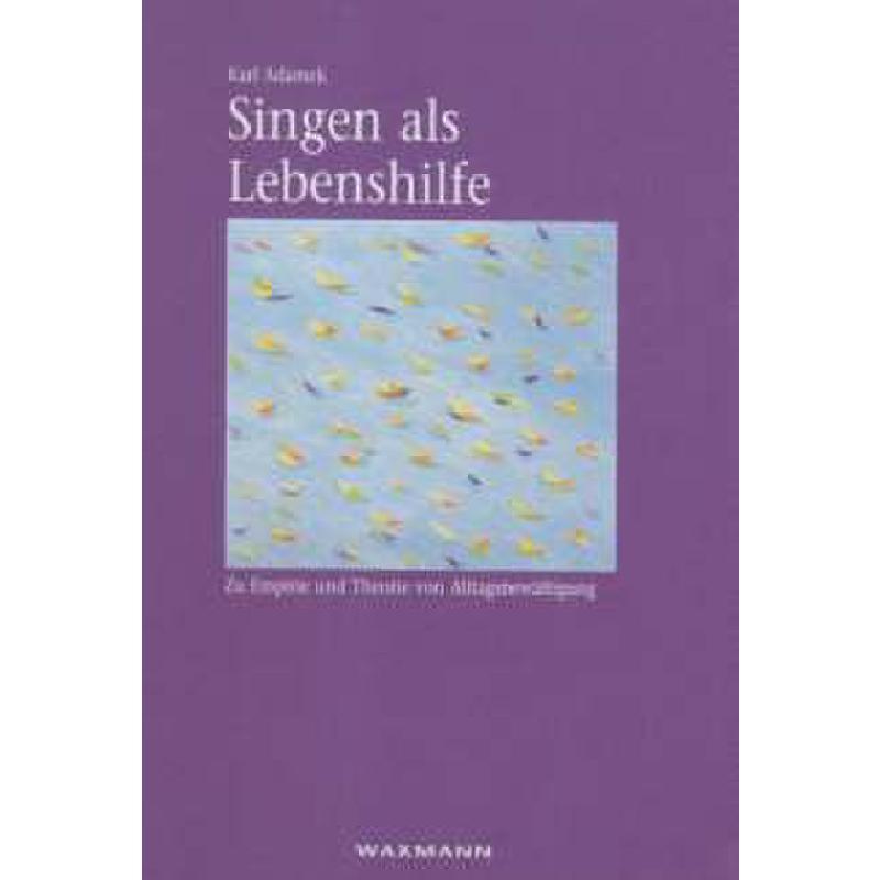 Titelbild für 978-3-8309-1960-5 - SINGEN ALS LEBENSHILFE