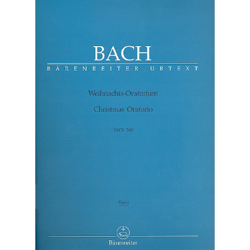 Titelbild für BA 5014-79 - Weihnachtsoratorium BWV 248