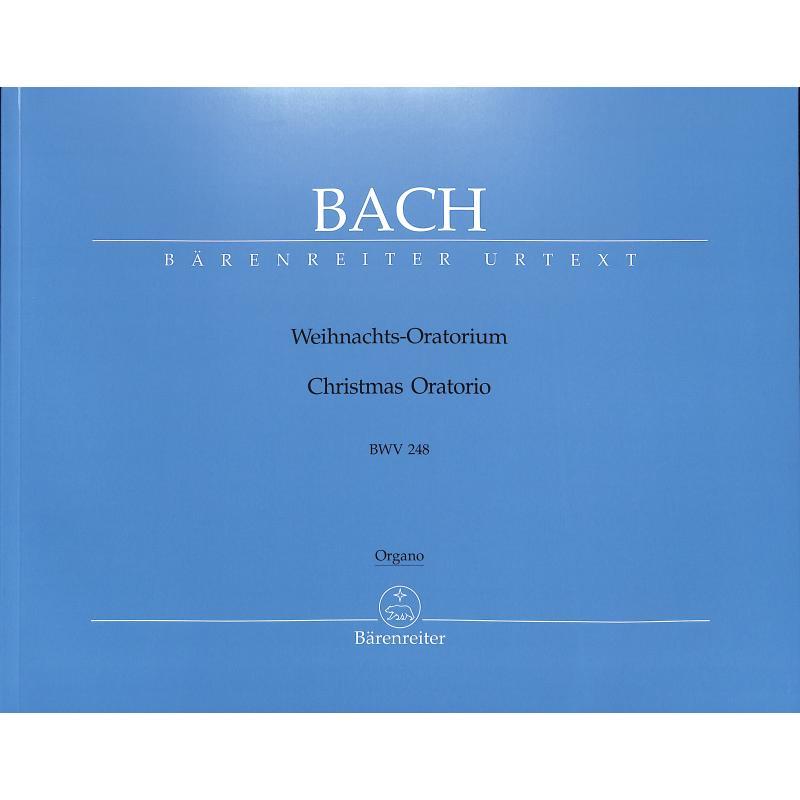 Titelbild für BA 5014-67 - Weihnachtsoratorium BWV 248