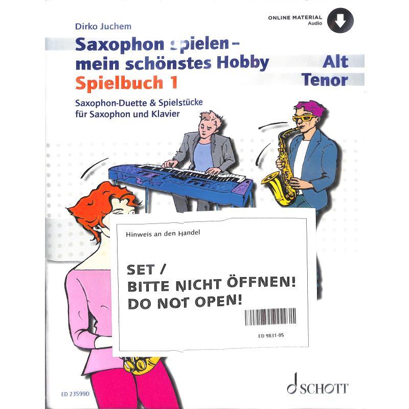 Titelbild für ED 9831-05 - SAXOPHON SPIELEN 1 - MEIN SCHOE