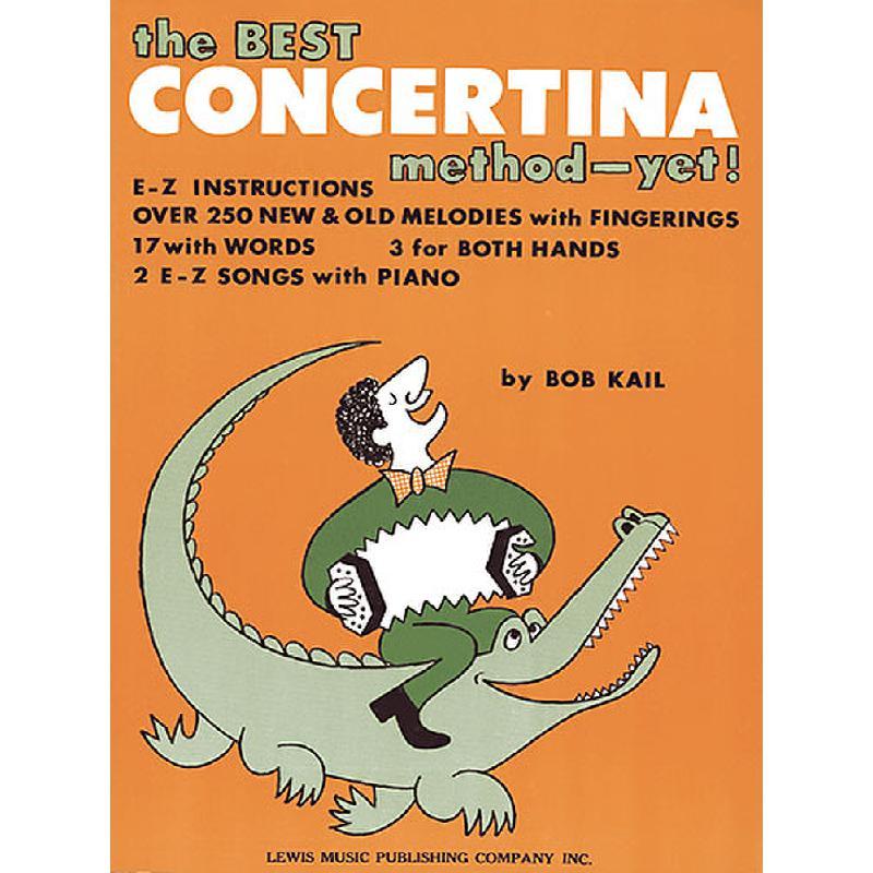 Titelbild für MSAS 10251 - THE BEST CONCERTINA METHOD - YET