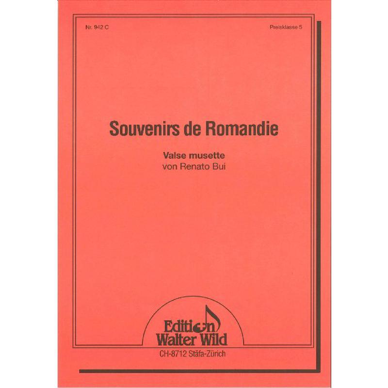 Titelbild für WILD 942C - SOUVENIRS DE ROMANDIE