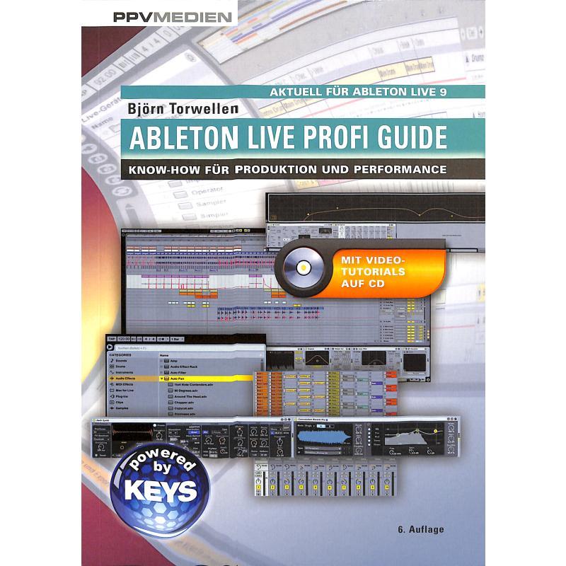 Titelbild für 978-3-95512-017-7 - Ableton live profi guide