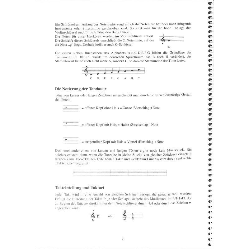 Notenbild für ABEL 100-HACK - VOLKSMUSIK AUF DEM HACKBRETT
