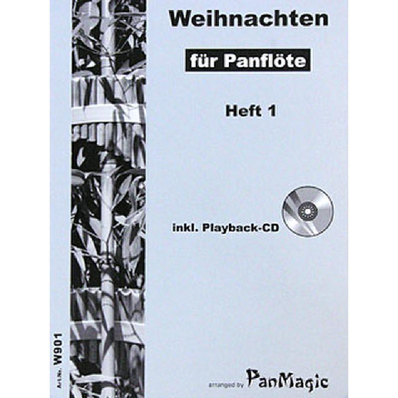 Titelbild für PANMAGIC -W901 - WEIHNACHTEN FUER PANFLOETE 1