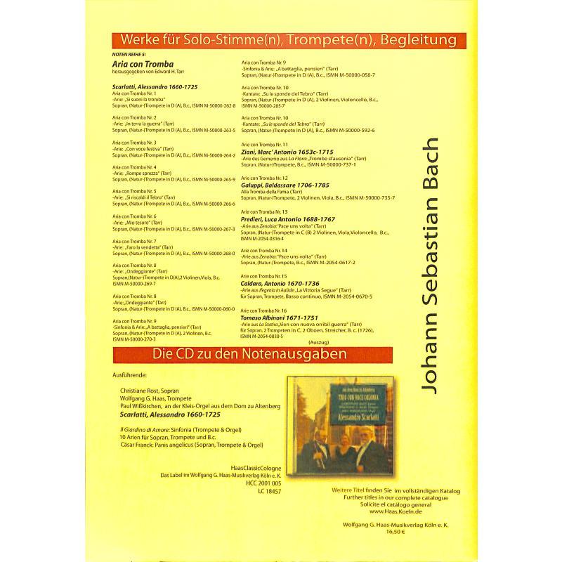 Notenbild für HAAS 1081-0 - VERSTUMME HOELLENHEER BWV 5/5