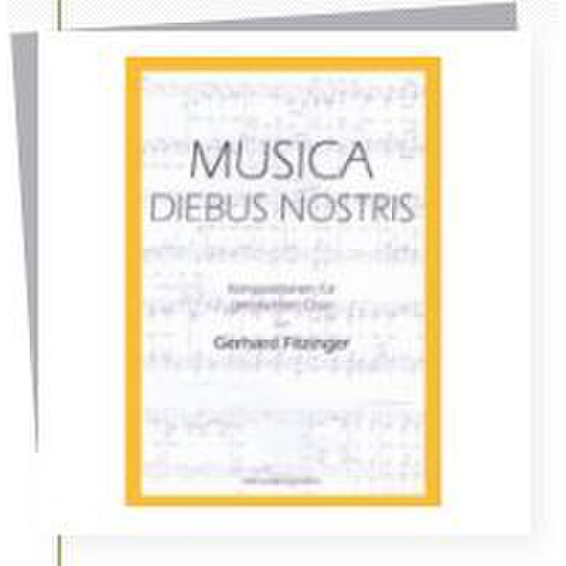 Titelbild für HEYN 0087-9 - MUSICA DIEBUS NOSTRIS