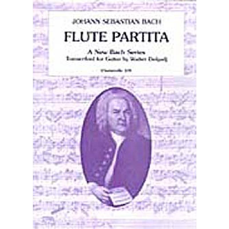 Titelbild für ECH 109 - PARTITA FUER FL BWV 1013