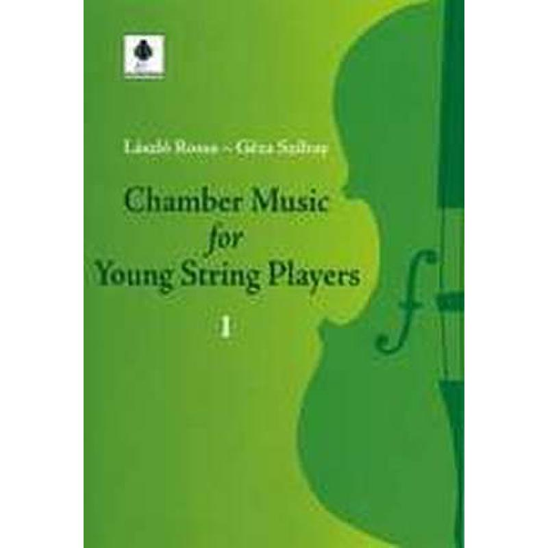 Produktinformationen zu CHAMBER MUSIC FOR YOUNG STRING PLAYERS 1 FENNICA 551-9