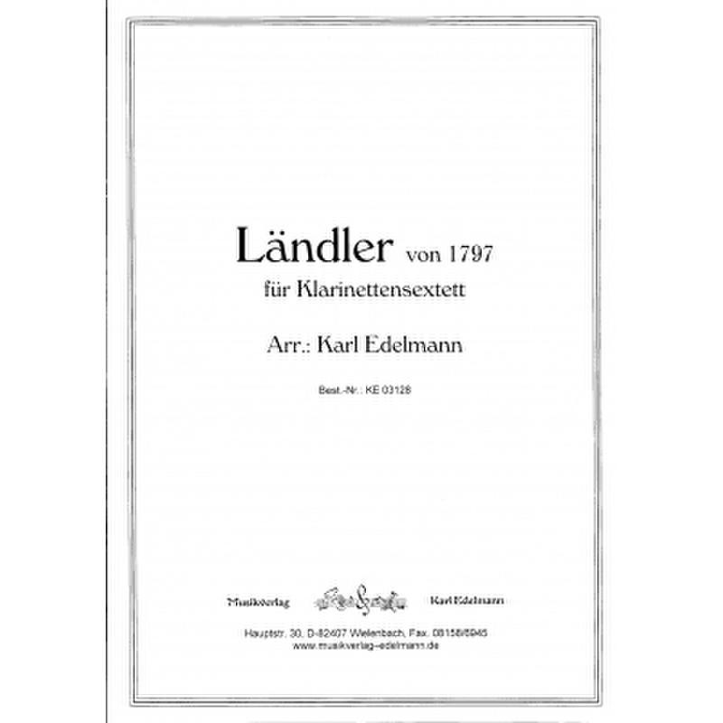 Titelbild für EDELMANN 3128 - LAENDLER VON 1797