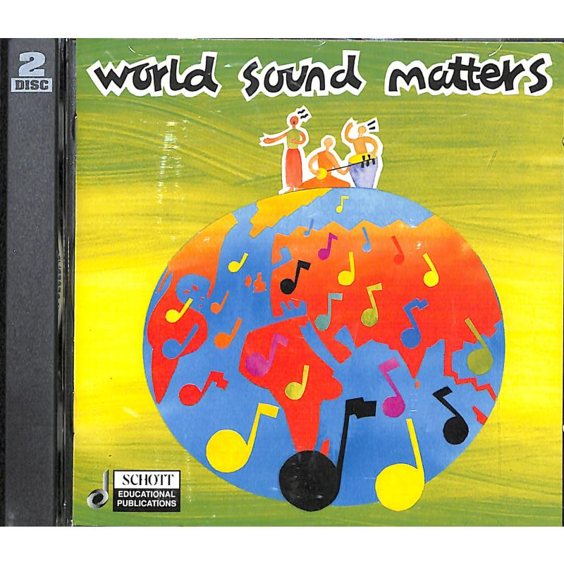 Titelbild für ED 12572 - WORLD SOUND MATTERS